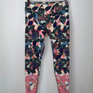 Anthropologie Pure + Good floral leggings